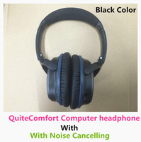 Wholesale pc Silver blue brown white QuiteComfort computer headphone with noisce cancelling Sealed box AAA battery