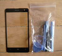 Wholesale Outer Touch Screen Replacement Lens Front Glass Cover Tool for Nokia Lumia