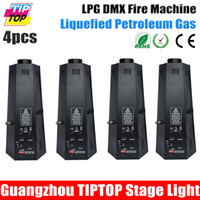 Wholesale China Stage Light XLOT LPG System W Spray Fire Machine Flame Jet Meter with Rubber Gas Hose Stainless Steel Clamp Way Connector