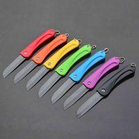 ceramic blade knife - inch vegatable fruit black blade folding ceramic knife kitchen knife knives color