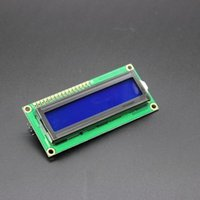 avr products - hot sell New product IIC I2C Serial Blue Backlight LCD Display for arduino UNO AVR Dropshipping