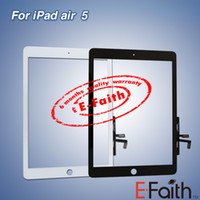 Cheap For iPad Air Touch Screen Digitizer with adhesive & Free DHL Shipping