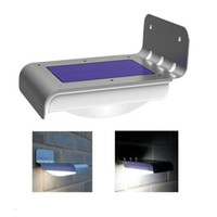 Wholesale Solar Motion Sensor Light Solar Motion Lamp Motion Sensor Voice Sensor by PIR Sensor Waterproof Silver Color Outdoor Light for Lawn Garden