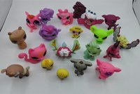 Wholesale 20 cat Dog action figure LPS Collection Classic toys for children Fast via EMS