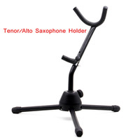 Wholesale Tenor Alto Saxophone Stand Sax Tripod Holder Metal Leg Detachable Foldable Saxophone Accessories Wholesal Retail