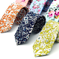 Neck Tie best wool yarn - Men s cotton printing tie United States fashion leisure Neck Ties brought The groom s best man holds necessary photograph show Neckties