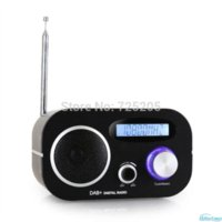 Wholesale DAB Digital Radio Alarm Clock FM Radios LCD Display Automatic Search Station Time and Date Display1 W RMS