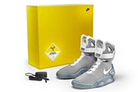 easter led lights - NIKE AIR MAG Shoes LED light Shoes Mens Cheap best Basketball Shoes Mens running Shoes Luxury Grey factory_store01