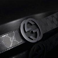 Wholesale belt buckles new hip brand buckle g designer belts for men women genuine leather gold cinto belt Men s