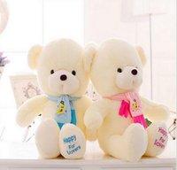 wedding stuff - 30cm Teddy Bear With Scarf Plush Stuffed Brinquedos Baby Gift Girls Toys Wedding And Birthday Party Decoration JIA769