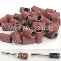Wholesale 100pcs mm sanding paper grinding wheel abrasive polishing for woodworking dremel tools accessories sandpaper rotary tool stone