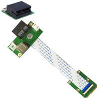 Wholesale SMAKN Mini PCI E to PCI E Express X1 USB Riser Card with High Speed FPC Cable