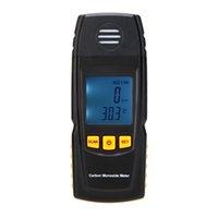 Wholesale GM8805 Portable Handheld Carbon Monoxide Meter High Precision CO Gas Detector Analyzer Measuring Range ppm detector de gas order lt no
