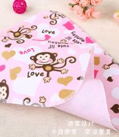 Wholesale cute baby changing mat baby changing mat cotton flannel changing mat