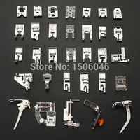 Wholesale New Domestic Sewing Machine Presser Foot Feet Kit Set For Brother Singer Janome