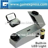 Wholesale Gemology Gemelogical Gemstone Gem Refractometer with Built in Light Refractometer Index oil RI Range