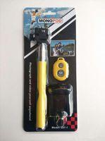 Wholesale summer Selfie Stick Monopod hot sale in kit set Bluetooth Remote Shutter Phone Clip Camera mobil phone