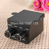 bass booster amplifier - Car Home Universal Remote Level Amplifier Bass Controller RCA Gain Level Volume Control Knob Booster