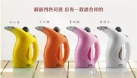 Wholesale Garment steamers handheld household mini hanging iron garment steamer braises face device beauty instrument gift Russian ship A3