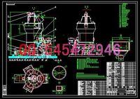 Wholesale HRM2400 vertical mill drawings Full Machining drawings