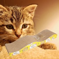 Wholesale Cat Scratching Corrugated board Scratcher Cat Lounge Handmade Pole Bed Pad Catnip Toy G01245