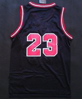 Wholesale Discount Top Quality Men s New fabric Basketball Jerseys Michael Jordan Embroidery Logo With Name Mix Order