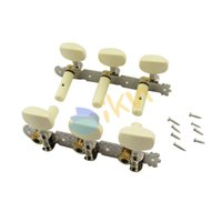 Wholesale 1 set Classical Guitar Machine Head Tuning Pegs with Ivory Plastic Top