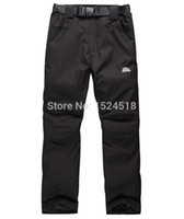Wholesale Winter Outdoor Lovers Ski Pants to keep warm with thick cotton Climbing the charge of pants Waterproof Windproof Breathable
