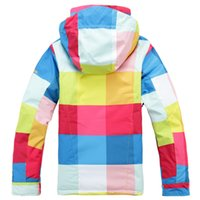 Wholesale 2015 New skiing fashion lady jackets female snowboarding Waterproof and Windproof warm ski jackets