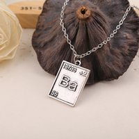 bad sets - 2016 New Fashion Breaking Bad Ba Br Lovers Vintage Pendant Necklace High Quality Sets of Chain Pendant Jewelry ZJ