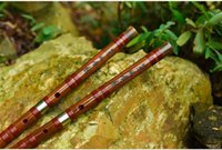 bamboo d - ZWB002 Key C D E F G Freeshipping Chinese Bamboo flute Dizi professional sound copper joint musical instrument