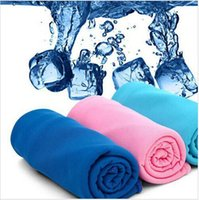 baby magic compress - 38 cm Exercise Sweat Ice Towel magic towel Cooling Summer Cold Sports Towels Cooling Towel Cool Towels Cool scarf Ice belt BBA3796