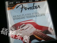 Wholesale 10 sets Musical Instrument ST3050R NICKELPLATED STEEL STANDARD TENSION BULLETS st th Electric Guitar Strings