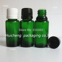 aroma oil cosmetics - DHL ml green glass essential oil bottle cc cosmetic packaging oz aroma oil bottle