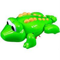 Cheap TS Designer Swimming Crocodile Animal Pool Toy for Baby Children Kid Bath Time Playing Bath Toy ST