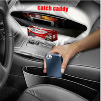 automobile store - Catch Caddy Car Seat Side Pocket Storage Catcher Organizer Space Save Store Box Automobile Glove Car Seat PP Stowing Tidying