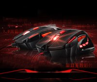 Wholesale Top quality computer dedicated wired gaming mouse designed for computer Competitive games must mouse Factory Offer with retail package