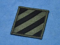 army infantry clothing - Perfect version of the US Army USARMY third Mechanized Infantry Division jungle color green badge armband