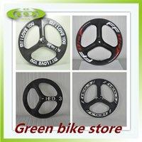 Wholesale Hot sale aero spoke c wheel carbon tri spoke wheel or fixed gear spoke front wheel in promotion