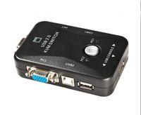Wholesale New USB KVM Switch Switcher Port VGA SVGA Switch Box USB Mouse Keyboard