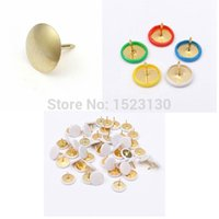 Wholesale New Arrival Newest x Drawing Metal Push Pins Assorted Colorful Boards Paper Capped Headed Fixing Thumb Tacks order lt no tra