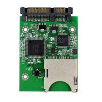 Wholesale SD SDHC MMC RAID To SATA Adapter Converter Supports G Capacity SD Card D5322A