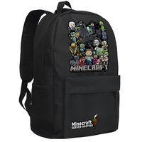 Wholesale 2015 new arrive men s women backpacks minecraft jj creeper bag shool bag Enderman