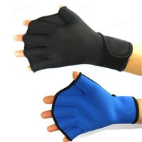 Wholesale Professional floating QianQian water gloves thermal wear puncture proof winter swimming swimming gloves