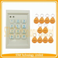 access lighting - RFID back light keypad single door standalone access controller users