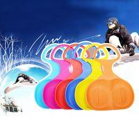 Wholesale 2015 Winter Adult Children Ski Snowboard Upgrade Kids Men Glasses Board Portable Strong Snow Sled Hot Sale