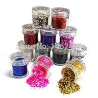 acylic sheets - color nail art glitter sheets acylic tips Ongle G0246