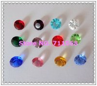 Cheap Wholesale-5MM 240pcs 12 Months Round-Brilliant-Shape Birth Stone Shiny Crystal Floating Charms For Glass Floating Locket DIY Accessories