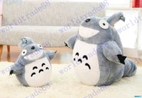 best tub toys - 60cm Totoro plush toys small cat dolls girls birthday present Christmas tub plush doll toys high quality Best Gifts