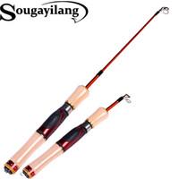 Wholesale New Carbon Fiber Ice Fishing Rod Spinning Fly Rock Surf Telescopic Fishing Pole Portable Fishing Rod